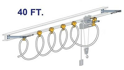 CONDUCTIX ROUND CABLE STRETCH WIRE FESTOON KIT (40 FOOT