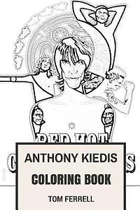 Anthony Kiedis Coloring Book : American Frontman and Red