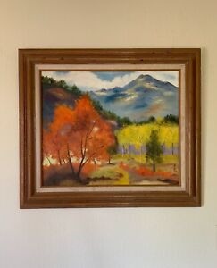 Sun Duoci (孙多慈 1912–1975) Taiwanese Oil Painting Signed