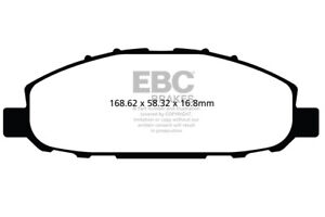 EBC Ultimax Front Brake Pads for Nissan Urvan 3.0 D (E25