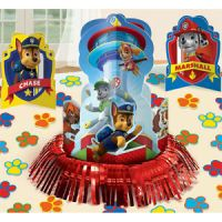 23pc Paw Patrol Table Decoration Kit Boys Birthday Party