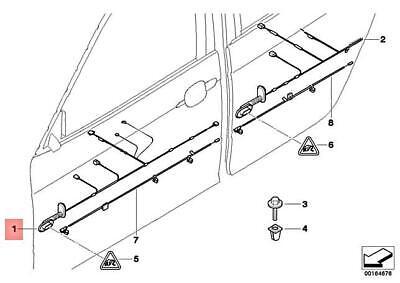 Genuine BMW X3 E83 X3 2.0d 2.0i 2.5i 2.5si 3.0d Wiring
