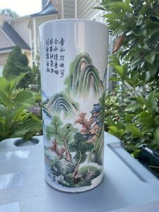 1. Antique Or Vintage Chinese Porcelain Hat Stand