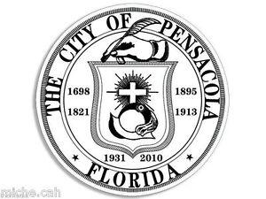 PENSACOLA FLORIDA CITY SEAL HELMET TOOLBOX 4