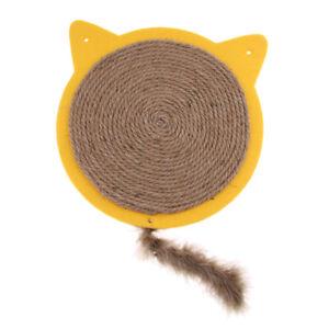 details sur tapis griffoir pour chats planche a gratter en sisal jouet griffoir pour