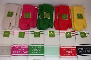 kate spade kitchen blum bins new all in good taste set of 2 dish towels or image is loading 034