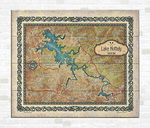 If you're on the market for a new home, there's plenty of resources available to help you find the right fit. Sale Us Online Nottely Georgia Lake Map Art On Wood Or Metal Great Vintage Wall Decor And Gift Wholesale Online Shop Vikramdebcollege Ac In
