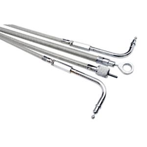 Armor Coat Stainless Steel Speedometer Cable~2004 Kawasaki