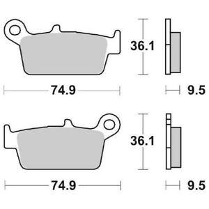 Ms-8014cf068f Pill brake post. WRP wg-7204-f6 98/02 yz 250