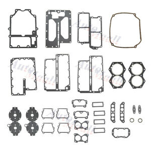Powerhead Gasket Kit for OMC 499 439085 389556 391300