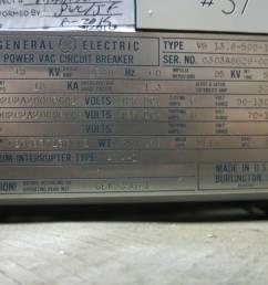 ge power vac 1200a vb 13 8 500 1 15 kv vacuum breaker general electric powervac for sale online ebay [ 1600 x 1200 Pixel ]