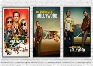 details about once upon a time in hollywood movie poster 2019 wall art maxi prints cinema