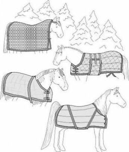 Suitability 7900 Horse Blanket, Sheet & Cooler Equestrian