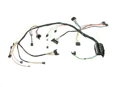 1967 Camaro Under Dash Wiring Harness MT Tach Console