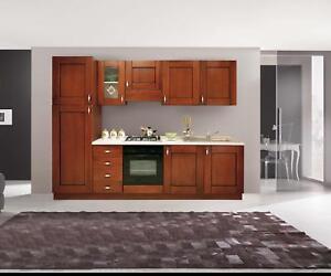 Pensili mobili cucina componibile classica noce arte povera h72  eBay