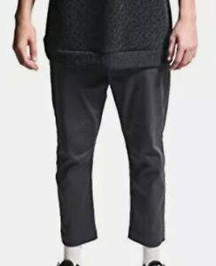 Highwaters Pants : highwaters, pants, Highwater, Stretch, Twill, Zipper, Charcoal, Pants