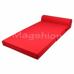 Folding Chair Mattress Foam Where To Buy A Bean Bag Sleeper Bed Floor Ottoman Seat