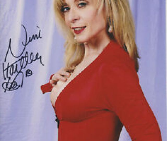 Image Is Loading Nina Hartley Adult Video Star Signed 8x10 Photo