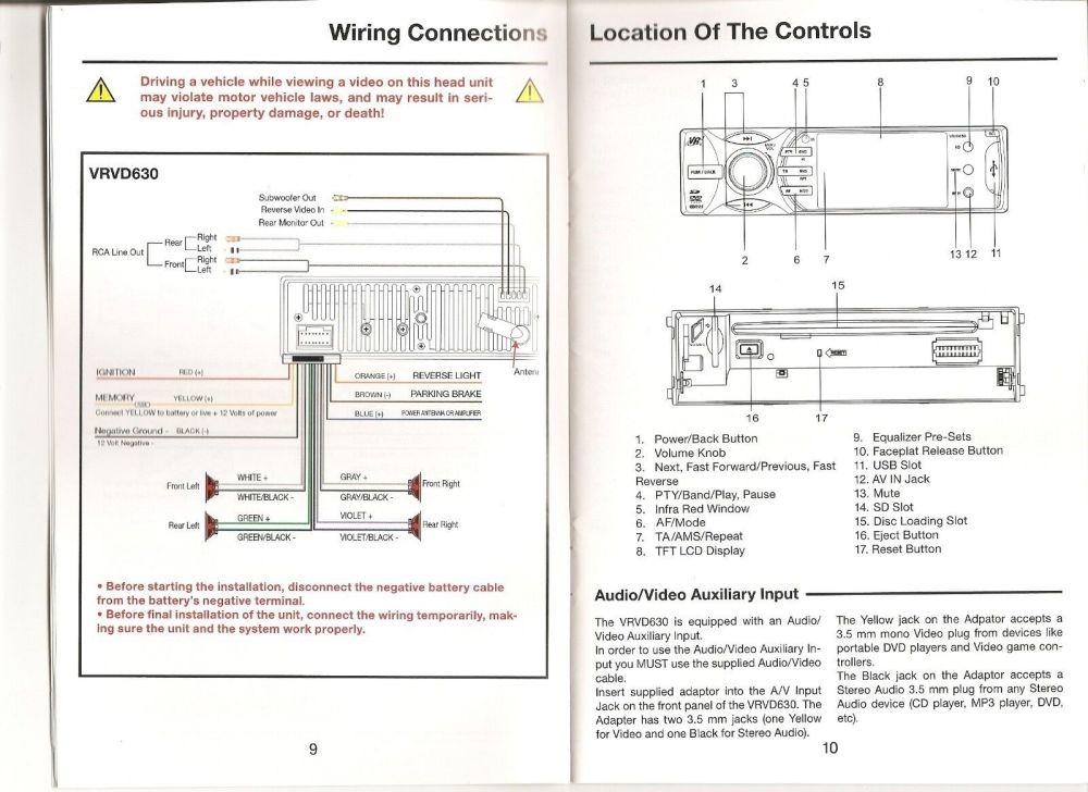 medium resolution of vr3 vrvd630 wiring harness wiring diagram hub radio wiring harness vr3 car stereo wiring harness