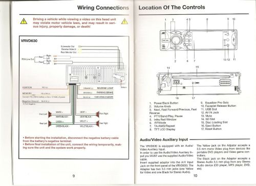 small resolution of vr3 vrvd630 wiring harness wiring diagram hub radio wiring harness vr3 car stereo wiring harness
