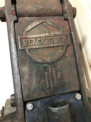 Vintage Floor Jack : vintage, floor, Vintage, Blackhawk, Floor, Antique, Railroad, Retro