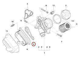 Oil Filter Housing Gasket Genuine BMW 11428637820 E90 E82