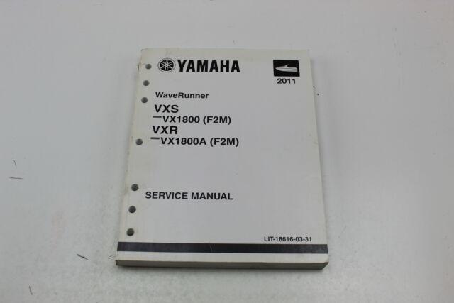 Yamaha 2011 WAVERUNNER VXS Vx1800 VXR Vx1800a Factory
