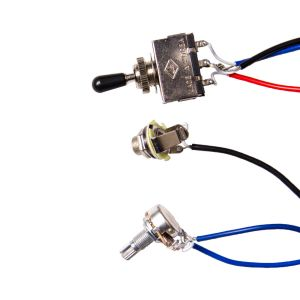 Guitar Wiring Harness Kit 2V2T 3 Way Switch ffor Guitar