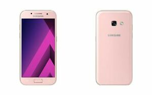 "Samsung Galaxy A7(2017) A720F/DS 4G Pink 32GB 16MP 5.7"" Android Phone By FedEx"