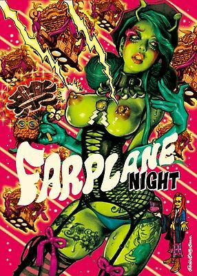 Rockin Jelly Bean : rockin, jelly, Rockin', Jelly, FARPLANE, NIGHT, OFFSET, PRINT, POSTER, Limited