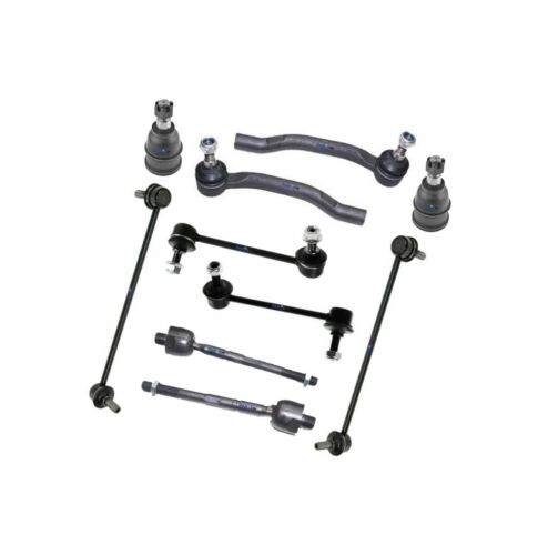 Tie Rod Ends 10 New Pc Suspension Kit for Acura MDX 2006