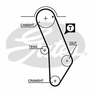 Fits VW Golf MK2 1.8 GTI 16V Genuine Gates Camshaft Timing