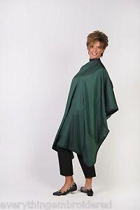 hunter green hair barber stylist waterproof nylon cutting cape personalized ltwt ebay