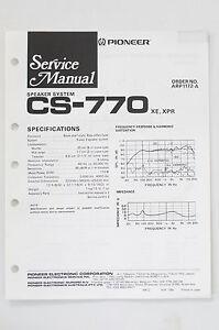 hpm 770 wiring diagram vt commodore fuel pump modore crayonbox pioneer cs original speaker system service manual guide image is loading