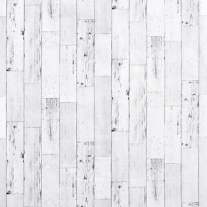 Shabby Chic Wood Panel Look Contact Paper White Wallpaper