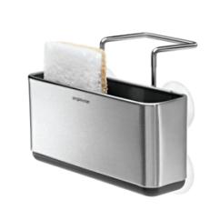 Kitchen Soap Caddy Kate Spade Slim Sink Home Sponge Storage Holder Brushed Image Is Loading
