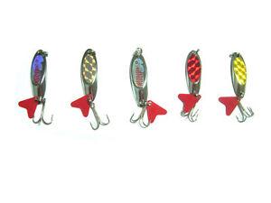 5PCS Fishling twinkling Spoon Lure Lures baits 8g 11.5g 748966942162 | eBay