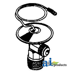 Compatible With John Deere EXPANSION VALVE AR49961 7520