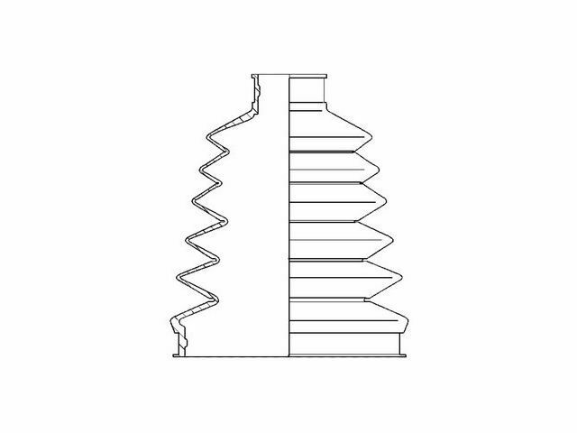 For 2000-2012 Honda Accord CV Boot Kit Front Outer 73956KG