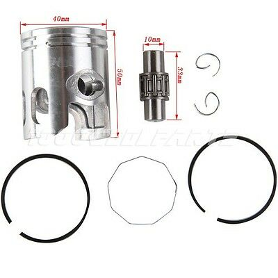 Piston Pin Ring Kit for 2-stroke 49cc 50cc Scooter Moped