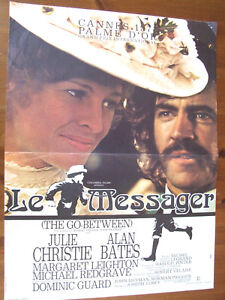 Le Messager (film, 1971) : messager, (film,, 1971), Displays, Messenger, Julie, Christie, Bates, Joseph, Losey