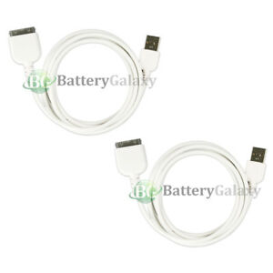 2 NEW USB Battery Charger Cable for Apple iPad Pad Tablet