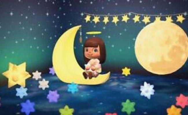 Animal Crossing Horizons Space Theme Furnitures Set Moon