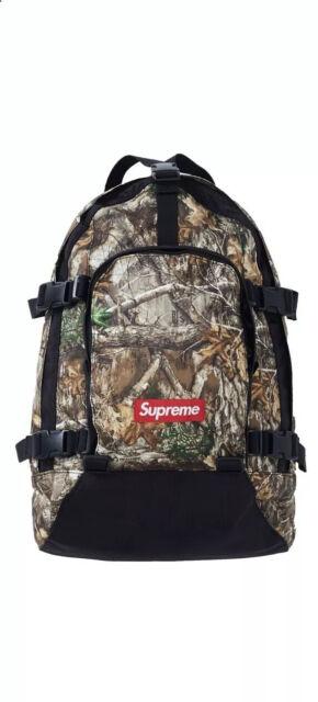 Supreme FW19 Backpack Real Tree Box Logo Bogo | eBay