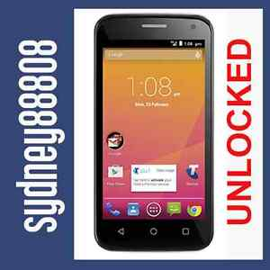 """NEW UNLOCKED ZTE BLADE Q LUX BUZZ 4G BLACK QUAD 4.5"""" ANDROID LTE700 MOBILE PHONE"""