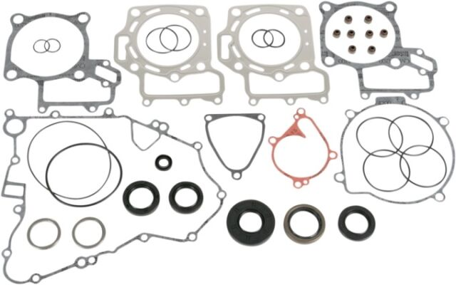 Moose Complete Gasket Kit w/ Oil Seals for KAWASAKI 2004