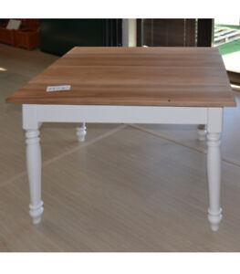 Scopri tutti i nostri tavoli allungabili in legno, nobilitati, vetro, ceramica e moli altri materiali di ultima generazione, eleganti e pratici. Tavolo Bianco Provenzale Shabby Chic 100x100 Quadrato Legno Massello Tavoli Ebay