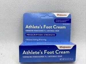 Walgreens Jock Itch & Athlete's Foot 1% Terbinafine ...
