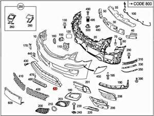 Genuine MERCEDES V251 R-CLASS W251 V251 Grille 2518850553
