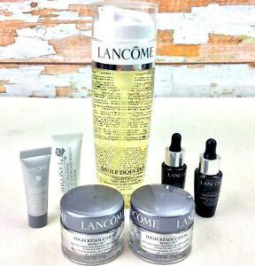 Lancome Paris Skin Care Lot of 7 Cleansing Oil Anti ...